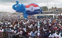 Akufo-Addo urge supporters to concentrate on the symbol of the party, the Elephant