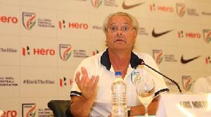 India under-17 coach, Luis Norton