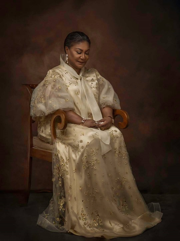 The stunning photo of Rebecca Akufo-Addo causing a stir on social media. 4