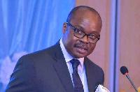 Governor of the Bank of Ghana, Dr Ernest Addison