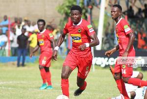Asante Kotoko defender Emmanuel Agyeman Badu