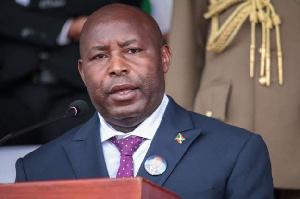 President of Burundi, Evariste Ndayishimiye