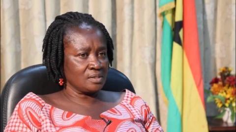 Minister of Education, Prof. Naana Jane Opoku-Agyemang