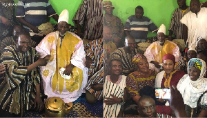 NPP executives in the region paid a courtesy call on the new King