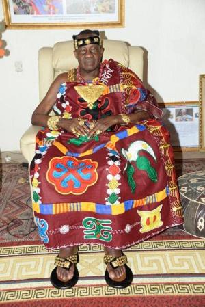 The late Daasebre Professor Emeritus Oti Boateng