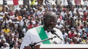 George Weah, Liberia President