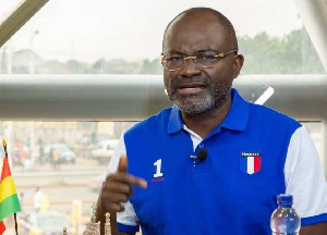 Member of Parliament for Assin Central constituency Kennedy Agyapong
