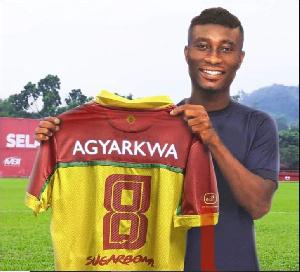 Ghana international Alex Agyarkwa