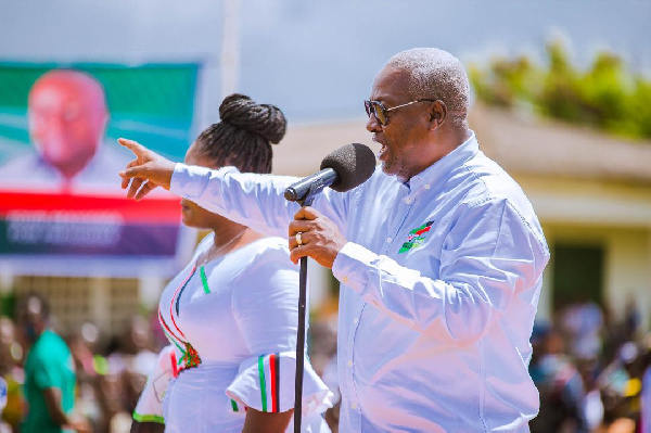 My second term will focus on skills training and jobs - Mahama