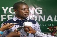 Elikem Kotoko is contesting the National Youth Organizer position