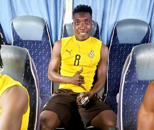 Benjamin Afutu, Hearts of Oak midfielder