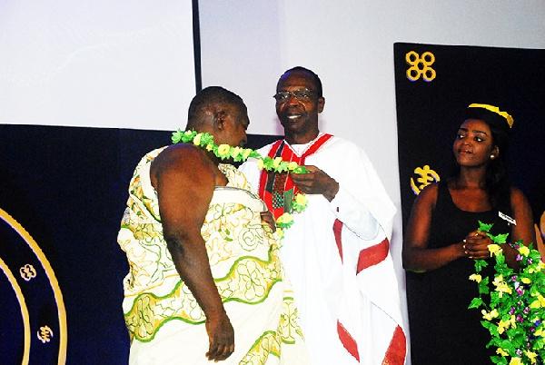GJA honours Kofi Coomson for fighting media tyranny