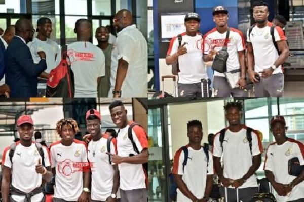 Black Meteors depart Ghana for Tokyo 2020 qualifiers in Egypt