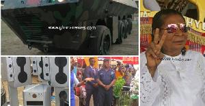 Dr. Ing. Kwadwo Safo Kantanka to outdoor new armour vehicle