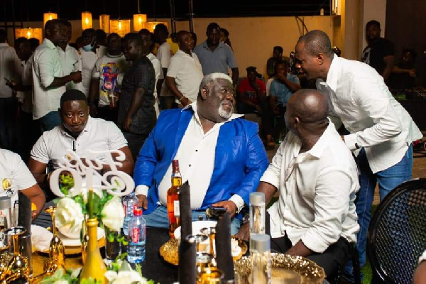 COCOBOD's Fiifi Boafo 'spoils' himself with 40th birthday party