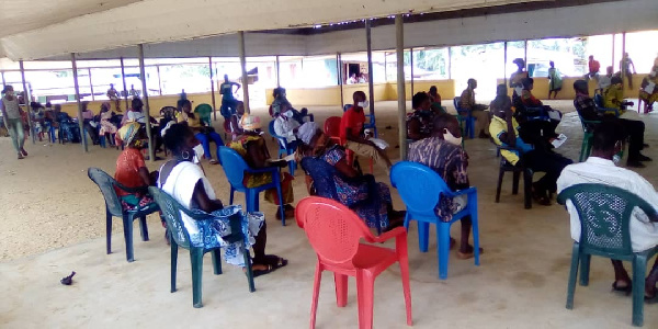 New voters' registration exercise progressing steadily in Bia East