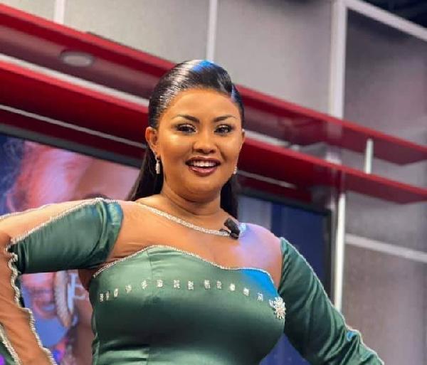 Ghanaian actress and TV host, Nana Ama McBrown