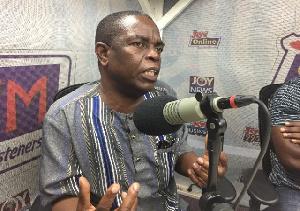 Co-founder of the Socialist Forum of Ghana, Kwesi Pratt Jnr