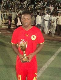 Ghanaian midfielder Augustine Okrah currently with Sudanese side Al Merriekh