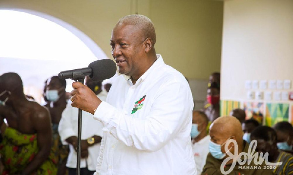 My focus is to deliver 1m jobs – Mahama