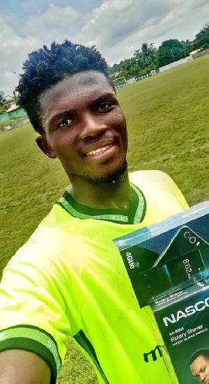 Dreams FC Midfielder Asafo Abednego