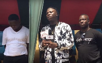 Stonebwoy visited the  paramount chief of Elmina