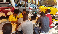 The outreach team was led by MTN executives in various teams