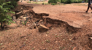 The bad state of the roads in Atwima-Kwanwoma