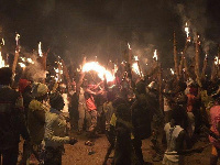 Bugum Festival is also known as the 'fire festival'