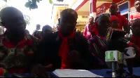 Isaac Afum Twum was speaking to journalists