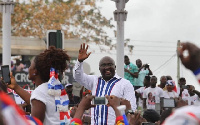 Dr Mahamudu Bawumia has said he is praying that God smiles on the NPP