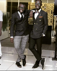 Andy Dosty and Okyeame Kwame
