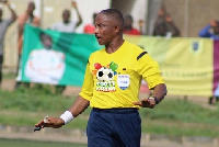 Referee Reginald Lathbridge is one of 10 Ghanaian referees suspended by CAF