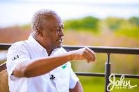 Flagbearer for the National Democratic Congress, John Mahama