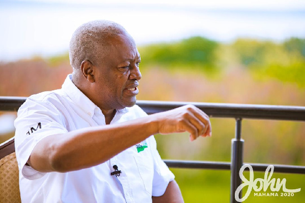 Mahama warns of an uprising over growing youth unemployment