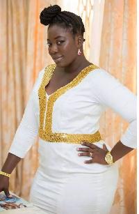 Nana Adjoa wife of Funny Face