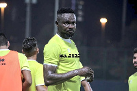 Ghanaian defender Vincent Atinga