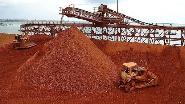 Ghana is looking to mine bauxite to uphold what it calls a barter deal with China