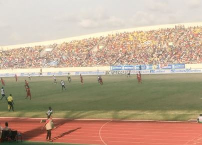 The Black Stars were held by Egypt to a 1-1 draw in Cape Coast