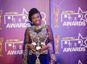Television personality Stacy Amoateng