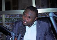 Deputy general secretary, Alliance for Accountable Governance, Wesley Owusu