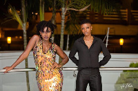 The late Ebony and Franky