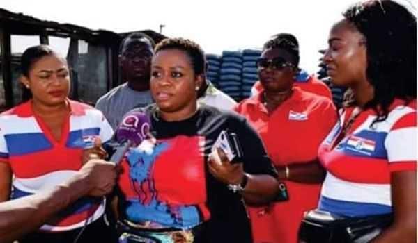 Deputy Communications Director of NPP, Maame Yaa Aboagye