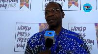 President of Ghana Journalists Association, Affail Monney