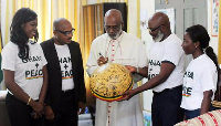 Most Rev. Charles Palmer-Buckle endorses Ghana + Peace Campaign