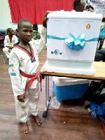 Ghana Social Taekwondo Club from Kumasi won the overall best taekwondo team award