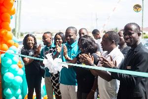 Team at the First National Bank Ghana Ltd.