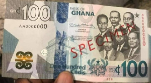 The Central Bank has introduced GHC100, GHC200 and GHC2 coin.