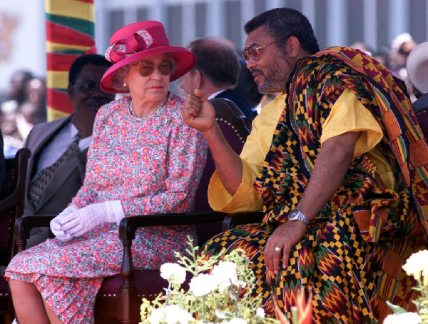I recall the many discussion we had – Queen Elizabeth's II tribute to Rawlings