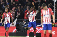 Partey featured in the first leg clash which ended 1-1 last week